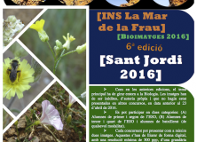 6è Concurs fotogràfic bioimatges Sant Jordi 2016