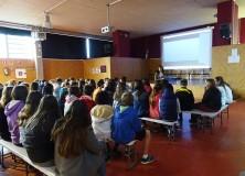 Neuer Artikel in der Zeitschrift: L'escriptora Susana Fernández Gabaldón parla de la seva obra als alumnos de primer d'ESO