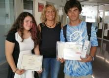 La Nicole i el Luis guanyen premis literaris de l'Ajuntament de Cambrils