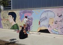 Nou article a la revista: Mural a l'institut: Ana Hernández