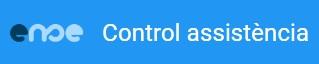 Aplicatiu control assitència alumnat